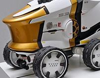 Mars mobile reactor