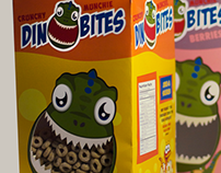 Dino Bites Cereal Package