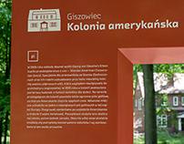 Wayfinding system in Giszowiec / Katowice