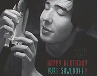Happy Birthday Yuri Shwedoff!