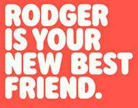 Rodger Typeface Design