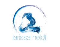 Larissa Heldt - YOGA LOGO
