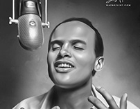 Harry Belafonte Digital Art by Wayne Flint