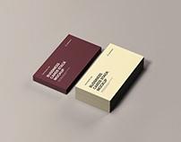 Business Cards Stack Mockup