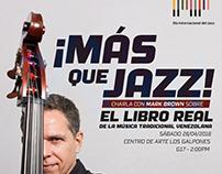 Poster | ¡Más que Jazz!