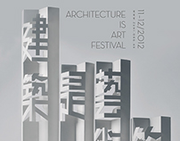 Architecture is Art Festival Poster