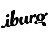 Iburg illustration logo process