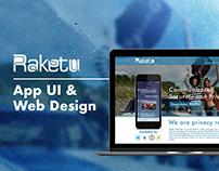 Raketu - Landing Page UI