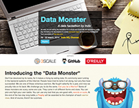Hackathon webpage - Data Monster