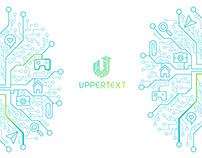 Uppertext Logo & UI Design