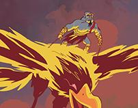 God of War - commission (2013)