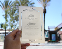 Stainless Steel Metal Invitations