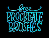 Free Procreate Brushes: a stockpile of all my freebies!
