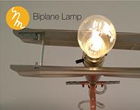 Biplane Lamp