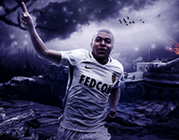 Kylian Mbappe 2016/17 Wallpaper