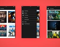Minimalist movie app!