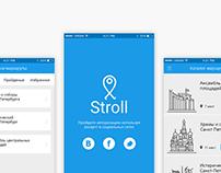Concept mobile app (2016)