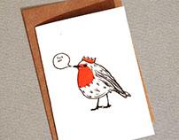 F*ck Off Robin Christmas Card