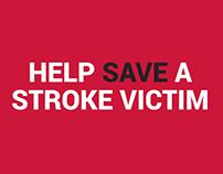 Stroke Awareness App : Motion Graphics