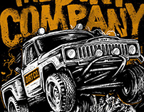Jeep Off Road - The Dirt Co. Illustration