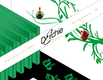 Exhibition booth design. D'Erchie Oil Mill.