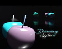 3D Vignette - Dancing Apples