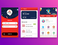 HSBC Youth Apps UI