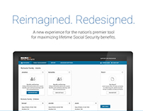 Social Security Web App UI/UX ReDesign