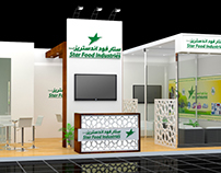 Star Food Exhibition Stand