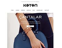 Koton.com email designs
