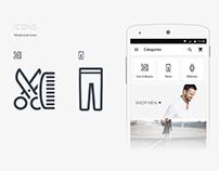BrandShop - Fashion Ecommerce App UI kits