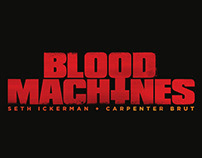 BLOOD MACHINES - Official LOGO