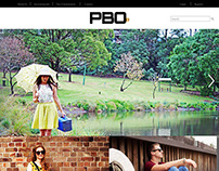 PBO Website Design