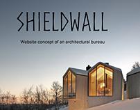 Architectural bureau website concept