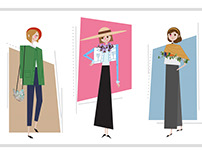 Illustration - Spring Styles