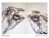 Paranoia Ⅰ - Pen Drawing 2003