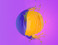 Baloon explosion - Cloth simulation C4D