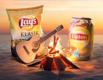 lipton-lay's yediğiniz içtiğiniz ayrı gitmesin campaign
