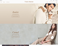 Franck Namani Ecommerce Website