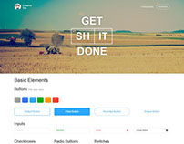 Get Sh*t Done - FREE Bootstrap UI Kit