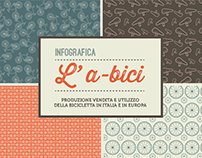 Infografica L'a-bici | Brochure