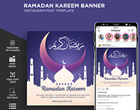 Banners for Ramadan Kareem