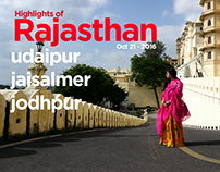 Highlights of Rajasthan India