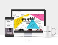 AllDayWomen Web Tasarımı