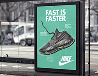 Nike Shoe Ad