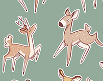 Deer Sticker Sheet