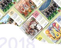 BIOSPHERE / Calendar design 2018