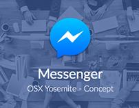 Messenger - OSX Yosemite Concept