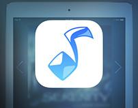 Crystal - iPad Music App Concept