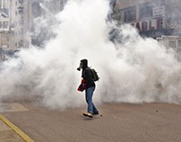 Manifestación reprimida en Caracas 8 de mayo